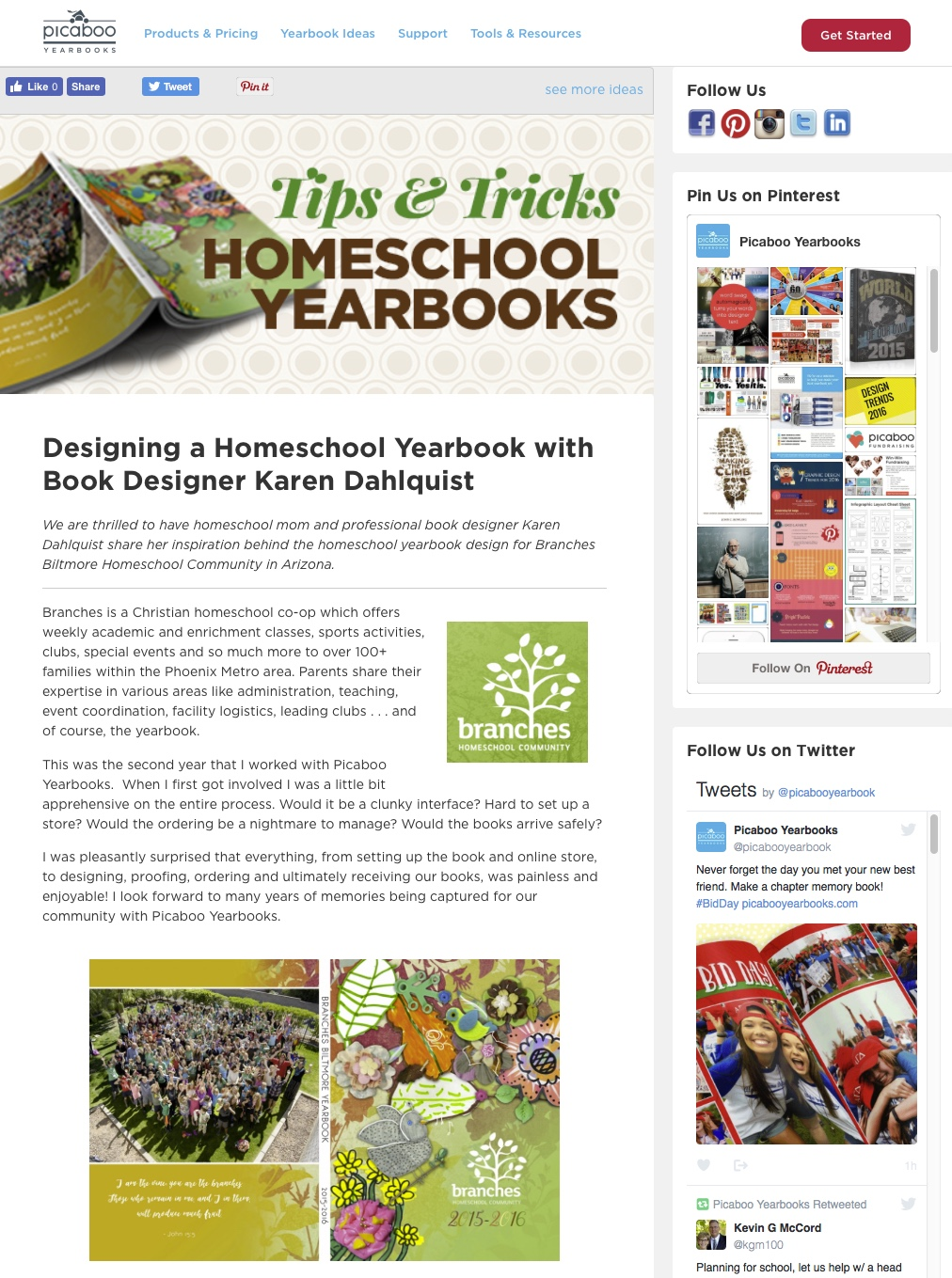 graphic design for books and yearbooks