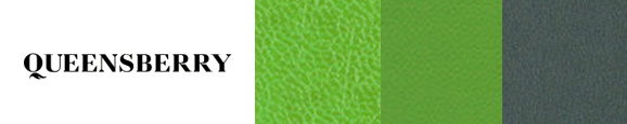 Queensberry cover materials in green